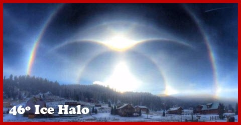 46 Degree Ice Halo