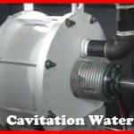 Cavitation water heater