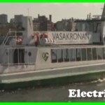 Electric powered boat