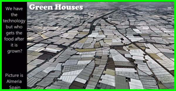 Green Houses Almeria Spain