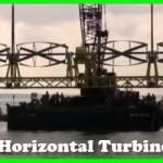horizontal tidal turbine