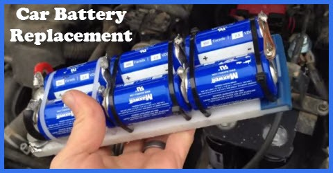 Capacitor car battery replacement