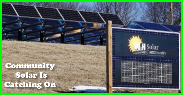 Community Solar Is Catching On