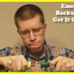 Connecting your emergency backup power source