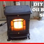 How to build a waist oil burning stove