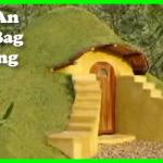How to buld an earth bag building