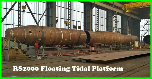 Rs2000 Floating Tidal Energy Platform