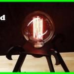 Tesla Inspired Desk Lamp