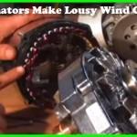 car alternatorn make lousy wind generators