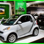 Mercedes Smart for two Green Car