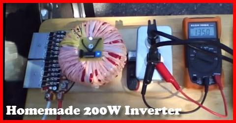 Homemade 200W Inverter