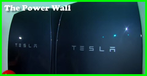 The Tesla Power Wall