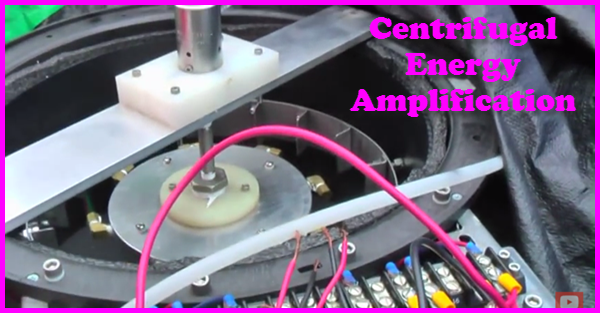 Centrifugal Energy Amplification