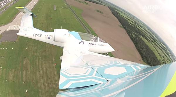 E-Fan Electric Plane