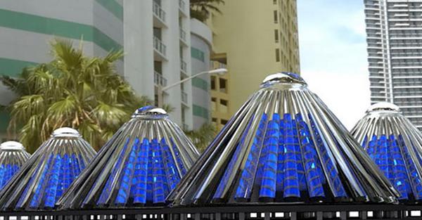 V3Solar cone solar generators