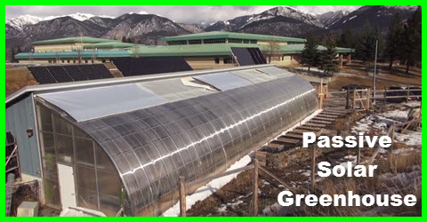 passive solar green house