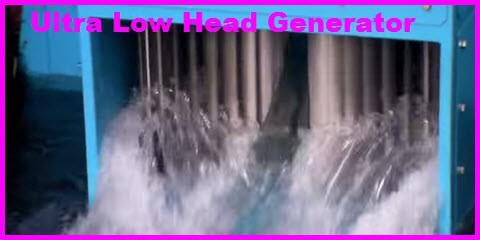 ultra low head generator