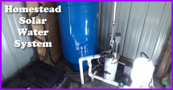 A Homestead solar water system