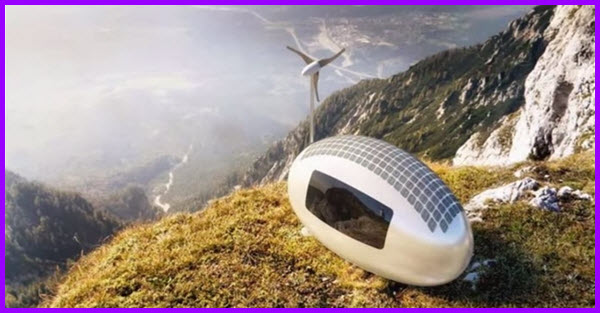 Ecocapsule retreat