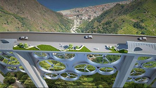 Energy efficient bridge design