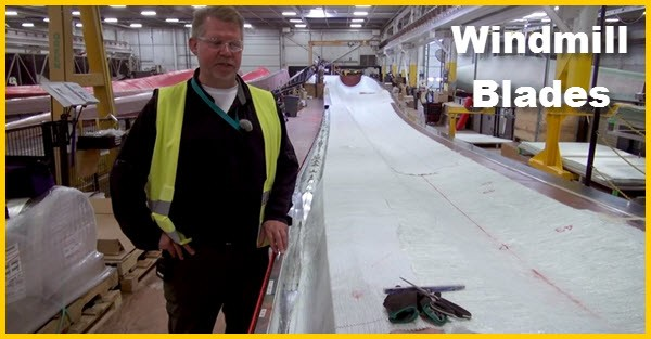 How They Build Windmill Blades