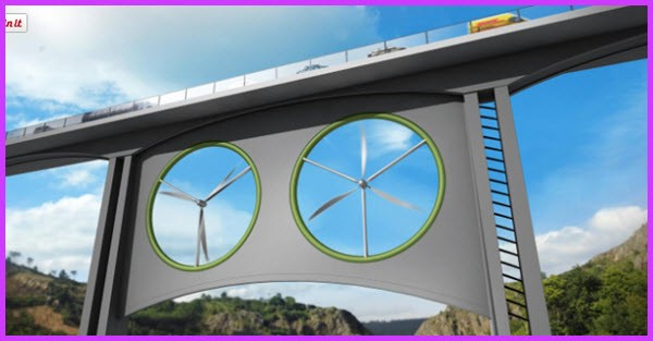 Turn Bridge Structures Into Energy Generators