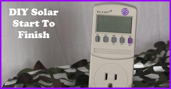 understand DIY solar start to finish