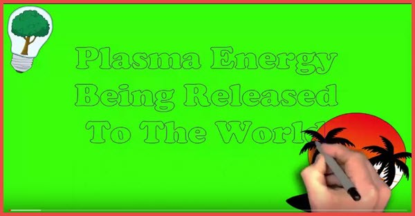plasma energy being released to the world